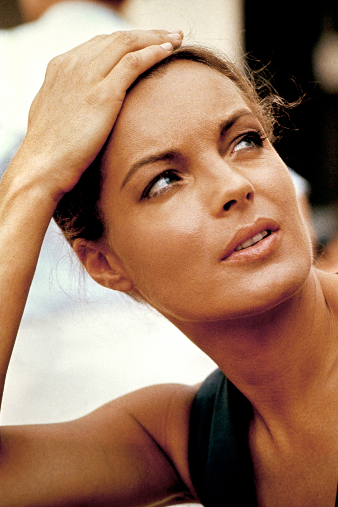 FRANCE - Austrian born actress Romy Schneider in the seventies.